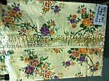 Скатертина-клейонка на кухонний стіл з пвх 110-140, фото 2