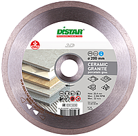 Круг алмазный 200x1.8x8.5x25.4 Distar 1A1R Bestseller Ceramic Granite, фото 1