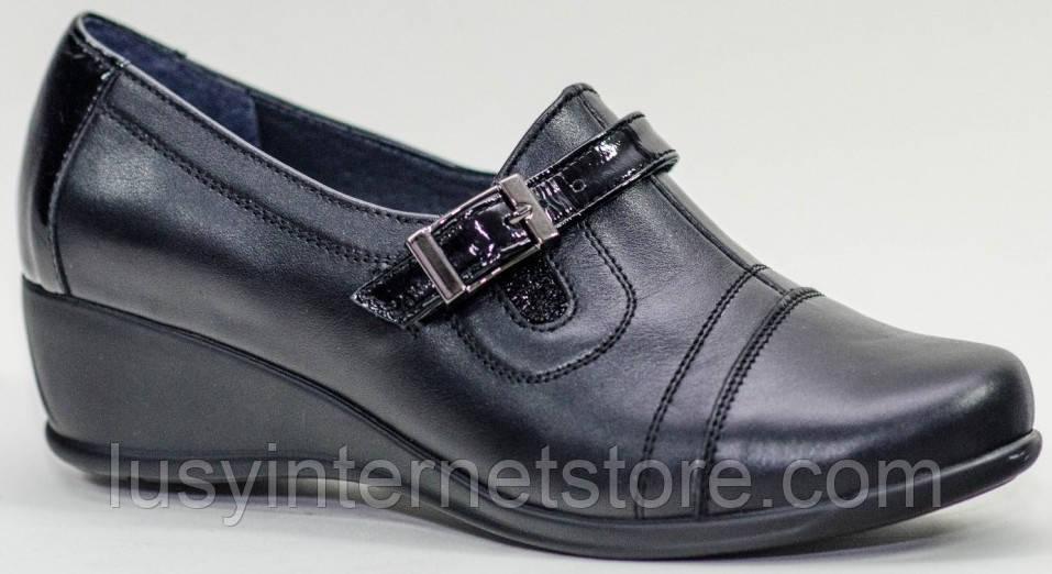 Туфли на широкую ногу женские от производителя модель РМ40