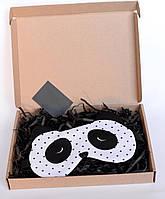 Дизайнерская Маска для сна Silenta Панда, фото 1