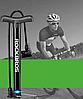 Велосипедний Насос Rосkbrоs 32 см алюмінієвий сплав 120 PSI