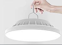 Автономная LED лампа на аккумуляторах для туризма, отдыха на природе пикника, рыбалки, палатки