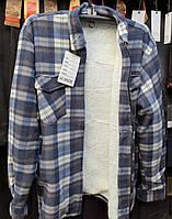 Рубашка теплая мужская на меху норма, фото 1