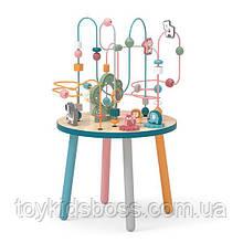 Дерев'яний ігровий центр Viga Toys PolarB Столик з лабіринтом (44033)