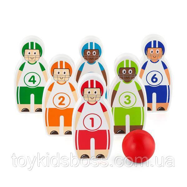 Ігровий набір Viga Toys Боулінг (50666)