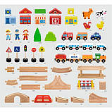Дерев'яна залізниця Viga Toys 90 ел. (50998), фото 2