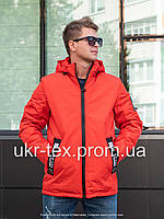 Мужская куртка осень-весна от производителя 48-56 Красный