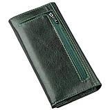 Утонченный женский кошелек ST Leather 18857 Зеленый, фото 2