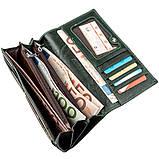 Утонченный женский кошелек ST Leather 18857 Зеленый, фото 5