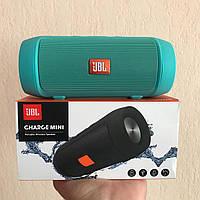 Портативная колонка JBL Charge 2+ MINI W2 - Bluetooth, FM, MP3 зеленая качественная реплика