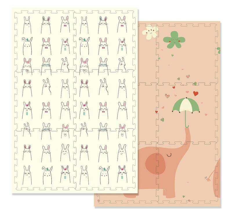 Детский коврик Better Пазл Весёлый Слоник EPE 172х117х1,5 см (U15858E)