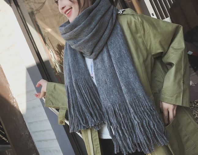 Стильний теплий шарф, накидка, палантин, хустку