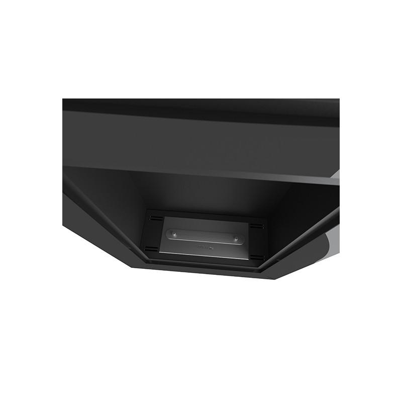 Биокамин Frame 55см вертикальный черный глянец