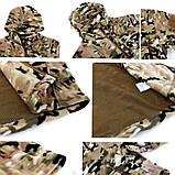 Куртка ESDY флисовая мультикам, фото 2