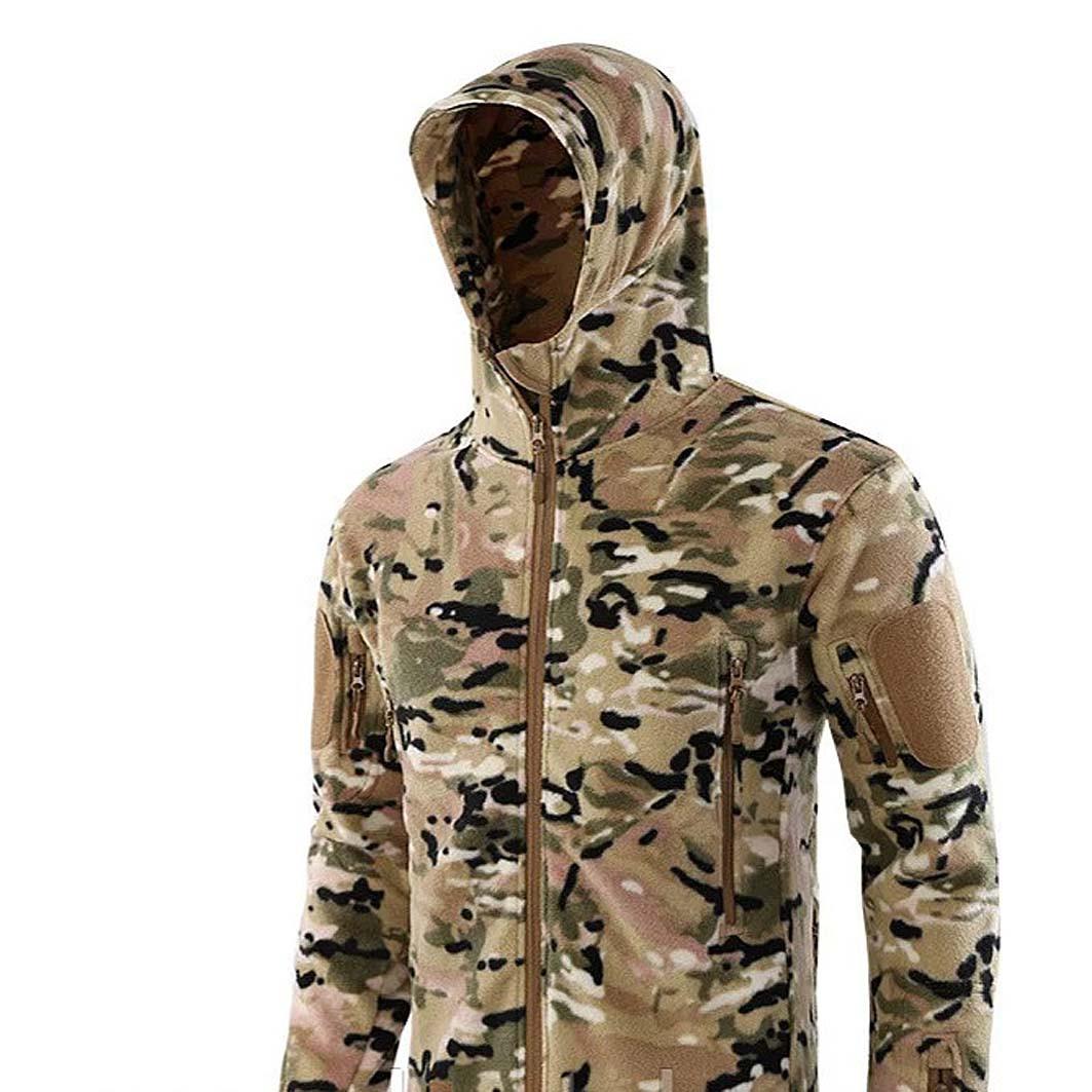 Куртка ESDY флисовая мультикам