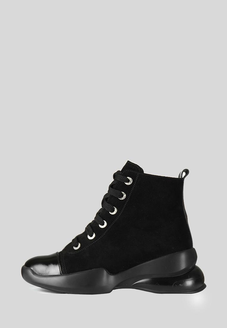 VM-Villomi Замшевые зимние ботинки на толстой подошве