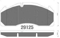 Колодка тормозная WVA 29125
