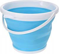 Ведро 10 литров туристическое складное Collapsible Bucket, фото 1