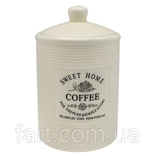"""Банка для кофе """"Прованс"""" 650мл 10.5*10.5*17см"""