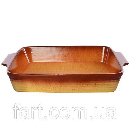 """Форма для запекания керамика """"Ethno Organic"""" 43.5*26*8см"""