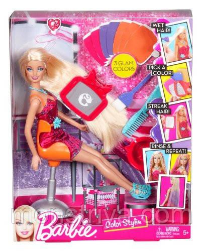 Barbie Студия окрашивания волос Барби