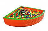 Сухой бассейн KIDIGO™ Угол 1,5 м, фото 2