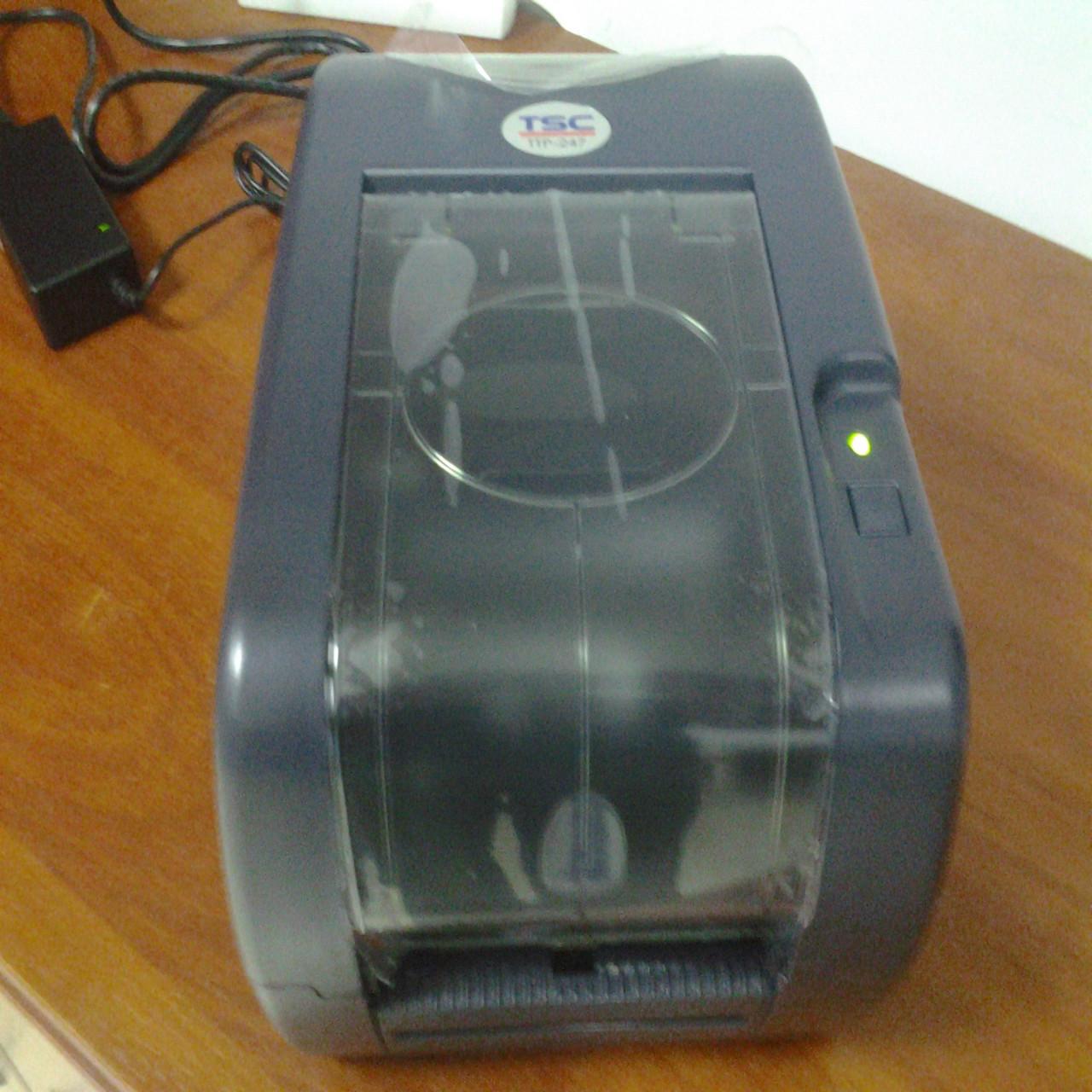 Термотрансферный принтер этикеток TSC TTP-247/TTP-345 (риббон 300 м)