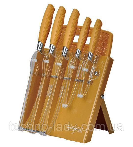 Набор ножей Royalty Line RL-GLD7ST