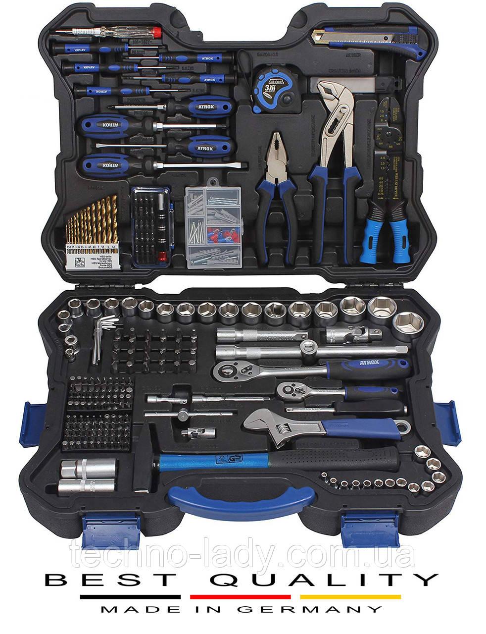 Профессиональный набор инструментов ATROX Werkzeugkoffer 303 предметов