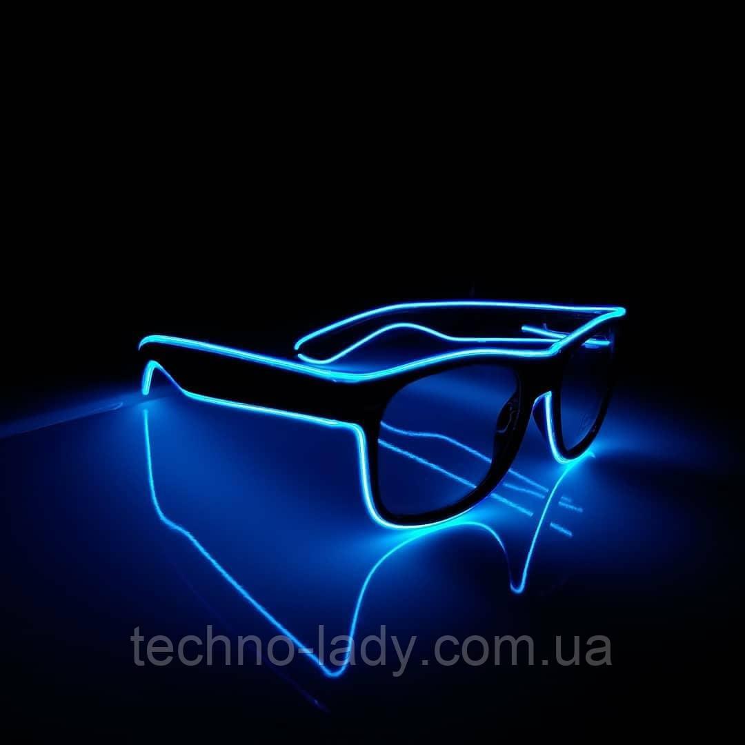 Неоновые очки Neon Glass