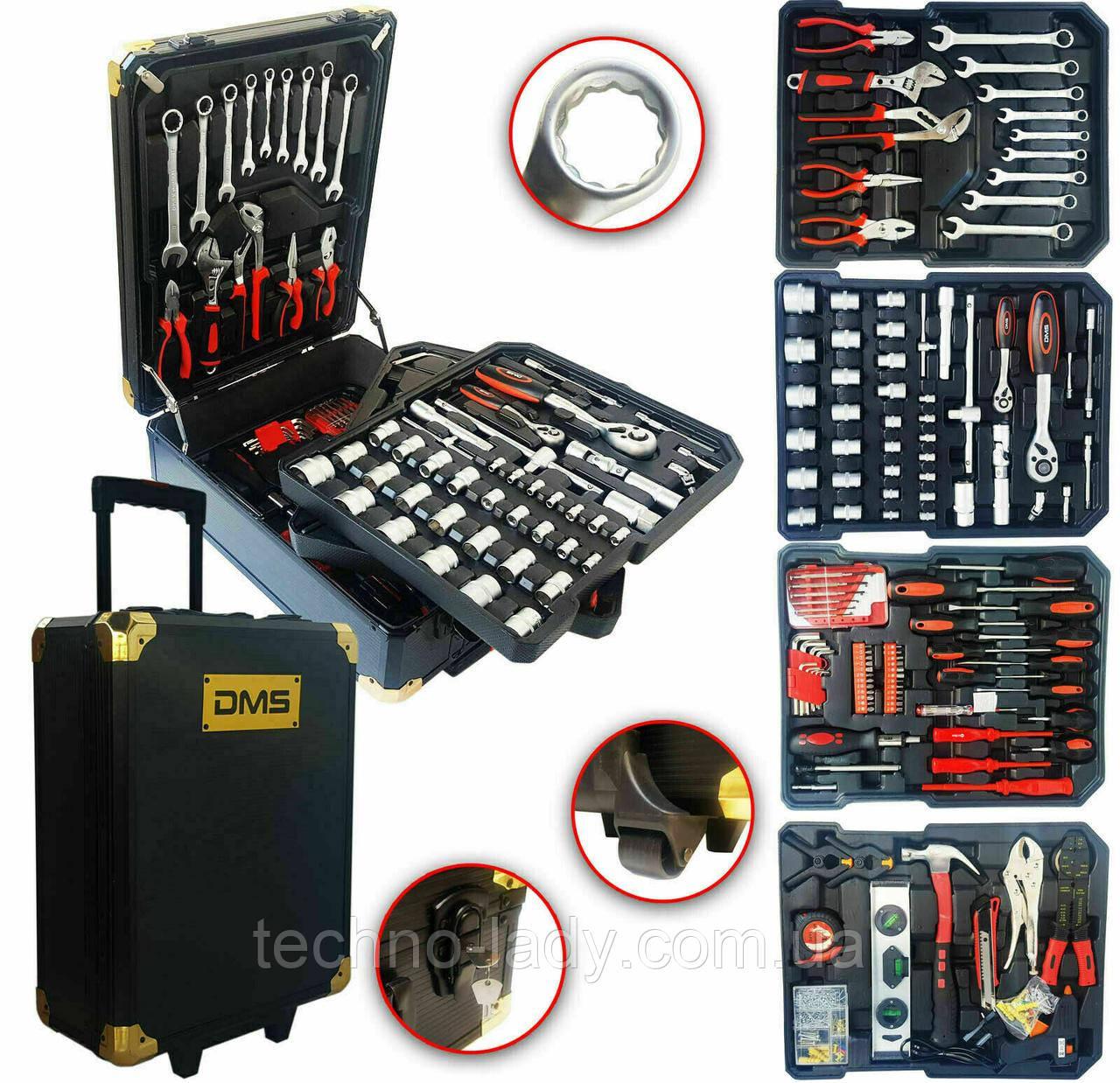 Профессиональный набор инструментов DMS® 420 предметов aus(749tlg) с тележкой