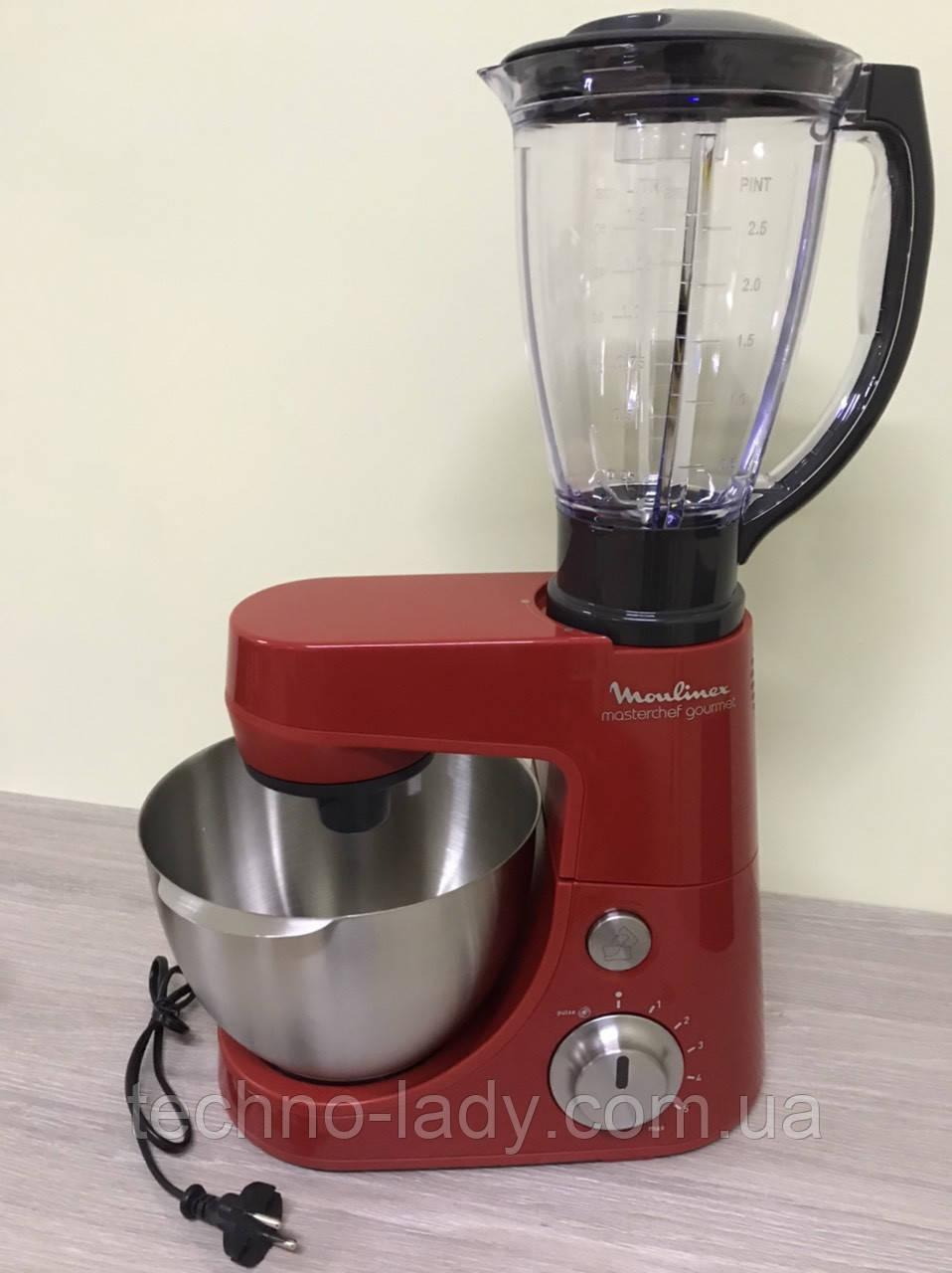 Кухонный комбайн, тестомес, блендер Moulinex QA408GB1