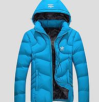 Мужская зимняя куртка Adidas БОЛЬШИЕ РАЗМЕРЫ МК 0103-И