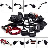 Набор OBD2 кабелей/переходников для диагностики легковых авто Launch