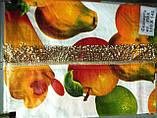 Скатертина-клейонка на кухонний стіл з пвх 110-140, фото 5