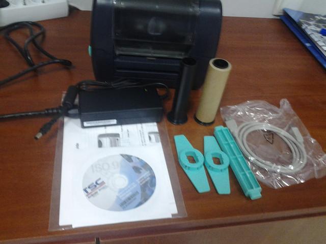 купить недорого термотрансферный принтер этикеток в украине