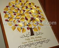 Дерево для привітання на День народження