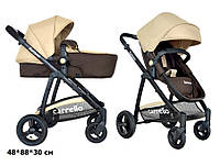 Универсальная коляска-трансформер 2в1 CARRELLO Fortuna CRL-9001 BROWN&BEIGE***