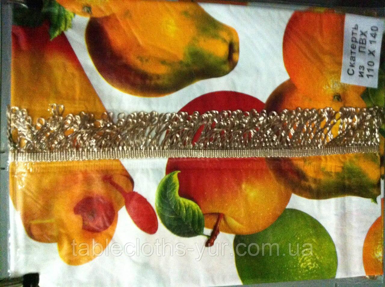 Скатертина-клейонка на кухонний стіл з пвх 110-140