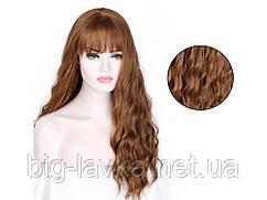 Кучерявый парик из искусственных волос 66 см  Русый