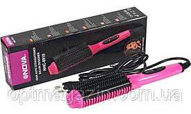 Расческа электрическая Nova NHC-8810 - утюжок для волос