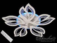 Стельова світлодіодна люстра з діммером 90W MX2546/5WH LED 3color dimmer