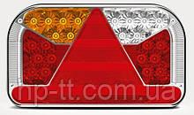 Фонарь задний Fristom FT-170 L TB LED SPKPM BAJONET 5PIN левый 6 функций
