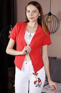 Жакет женский красный TRG 122133P