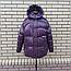 Короткая модная зимняя куртка с капюшоном, фото 3