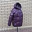 Короткая модная зимняя куртка с капюшоном, фото 4