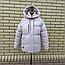Короткая модная зимняя куртка с капюшоном, фото 5
