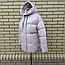 Короткая модная зимняя куртка с капюшоном, фото 6