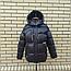 Короткая модная зимняя куртка с капюшоном, фото 7