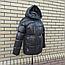 Короткая модная зимняя куртка с капюшоном, фото 8
